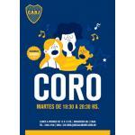 El Coro de Boca Juniors - Busca voces en todas sus cuerdas